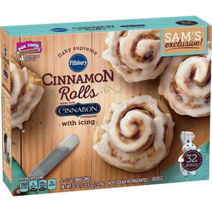 Pillsbury Flaky Supreme Cinnamon Rolls with Icing (32 ct.)
