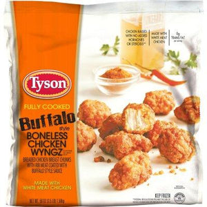 Tyson Buffalo Style Boneless Chicken Wyngz (3.5 lb.)