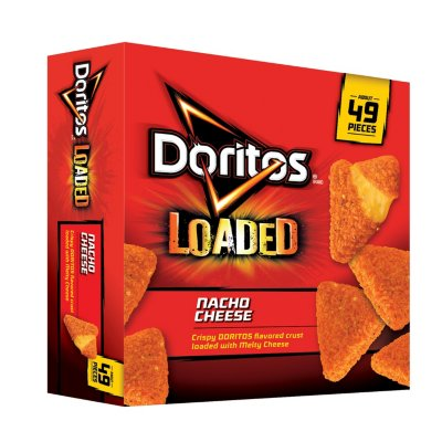 Doritos Loaded Nacho Cheese Breaded Cheese Snacks (45 oz.)-1