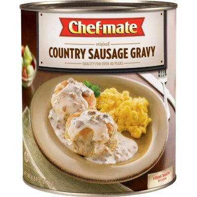 Chef-mate¬ Country Sausage Gravy - 105 oz.-1