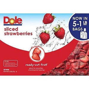 Dole Frozen Sliced Strawberries (1 lb)