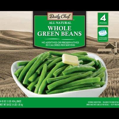 Daily Chef All Natural Whole Green Beans (16 oz.)