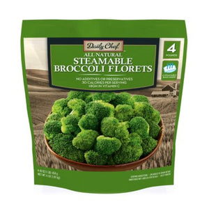 Daily Chef Steamable Broccoli Florets (1 lb. bag)