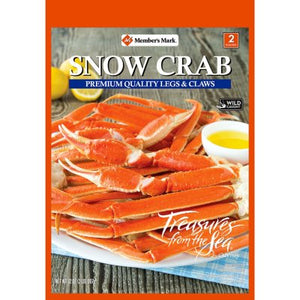 Member's Mark Snow Crab Legs and Claws (32 oz.)-1