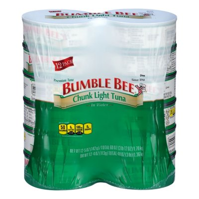 Bumble Bee Chunk Light Tuna in Water (5 oz. ea., 12 cans)-1