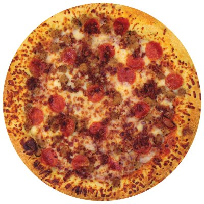 Whole Hot Bake 3-Meat Pizza-1