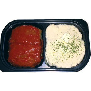 Homestyle Meatloaf with Whipped Potatoes (serves 2-4)-1