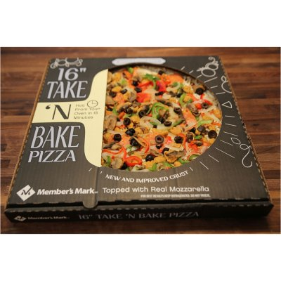 "Member's Mark 16"" Take & Bake Deluxe Pizza-1"