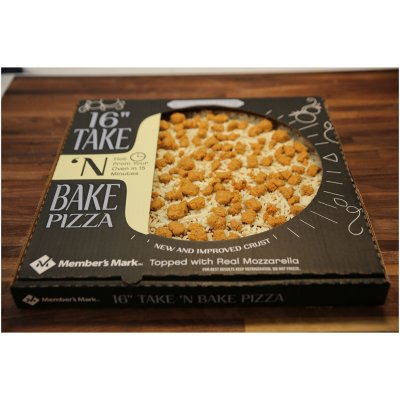"Member's Mark 16"" Take & Bake Sausage Pizza-1"