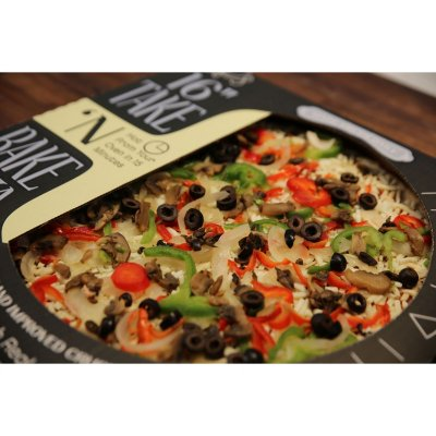 "Member's Mark 16"" Take & Bake Veggie Pizza-1"