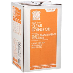 Bakers & Chefs Clear Frying Oil - 35 lbs.-1