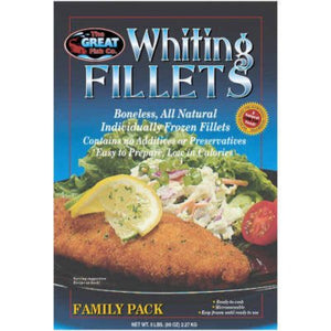 The Great Fish Co. Whiting Fillets - 5 lbs.-1