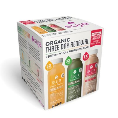 Suja Three-Day Renewal, Cold-Pressed Organic Juices and Whole Food Meal...-1