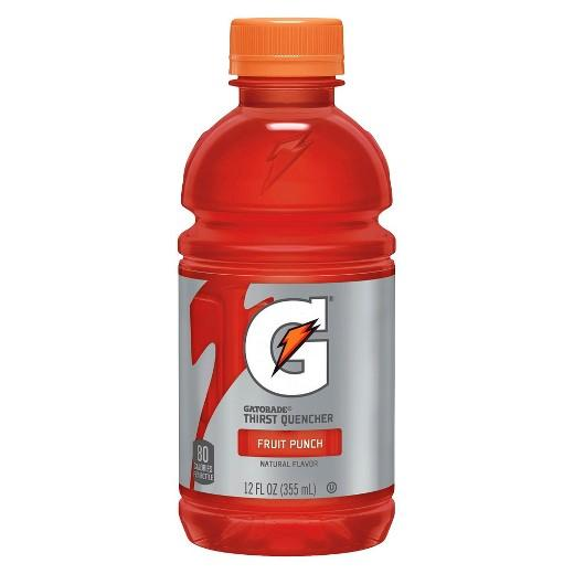 Gatorade Fruit Punch 12 oz. Bottle