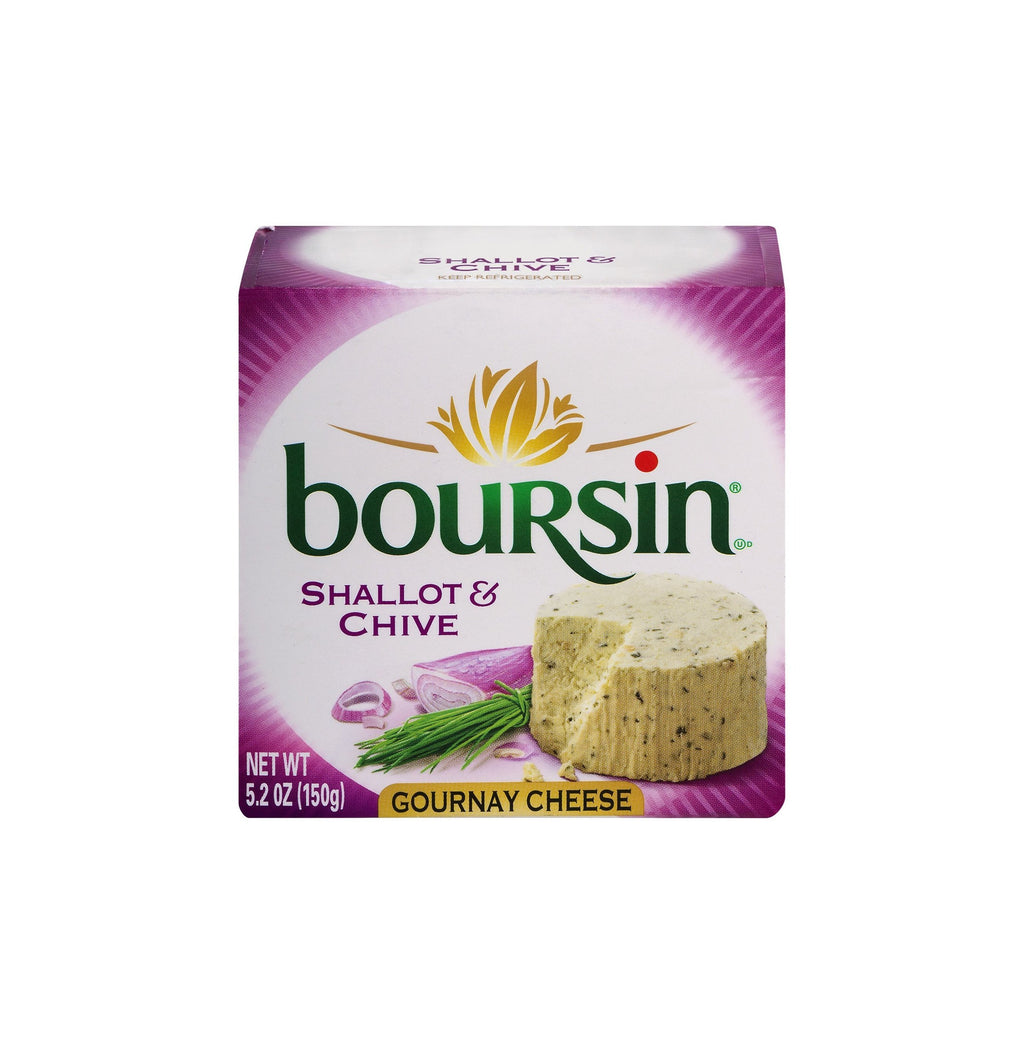 Boursin Gournay Cheese 5.2 Oz Box - Shallot & Chive