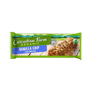 Cascadian Farms Organic Chewy Bar - Vanilla - 1 ct.