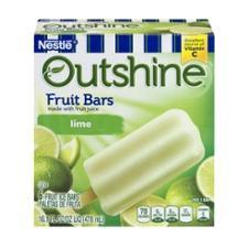 Edy's Outshine Bars - Lime (6 ct.)