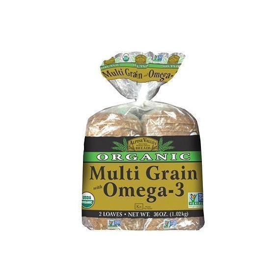 Alpine Valley Organic Multi Grain Bread, Omega-3
