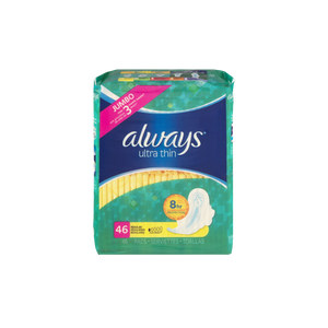 Always Ultra Thin Regular Pads with Wings (48 ct.)