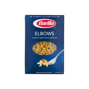 Barilla Elbow Macaroni 1 lb. Box PLUS Sauce