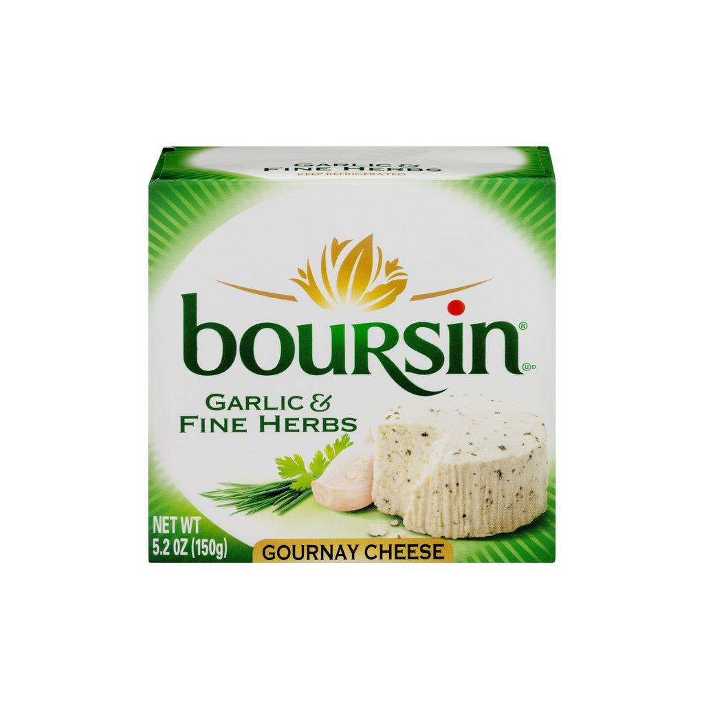 Boursin Gournay Cheese 5.2 Oz Box - Garlic & Fine Herbs