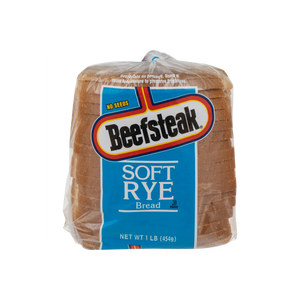 Beefsteak Bread - Soft Rye No Seeds