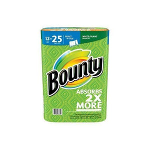 Bounty Select-A-Size Paper Towels, White (12 rolls, 131 sheets per roll)