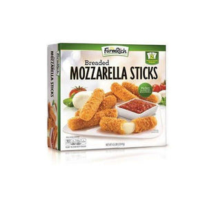 Breaded Mozzarella Sticks (4.5 lb. box)