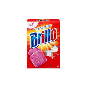 Brillo Steel Wool Soap Pads, 18 ct.