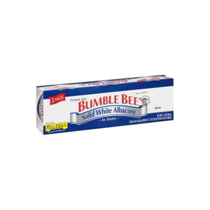 Bumble Bee Solid White Albacore Tuna in Water, 3 oz, 3 count