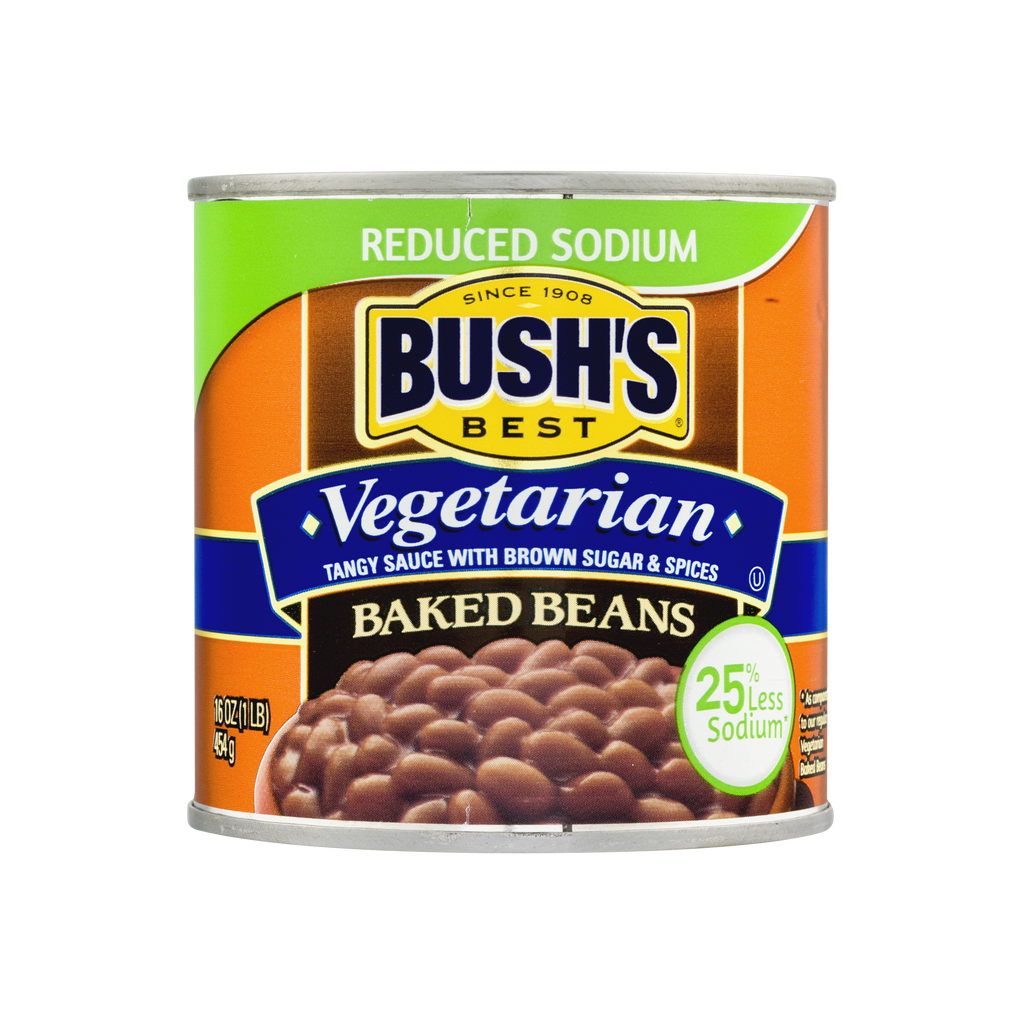 Bush's Best Reduced Sodium Vegetarian Baked Beans 16 oz