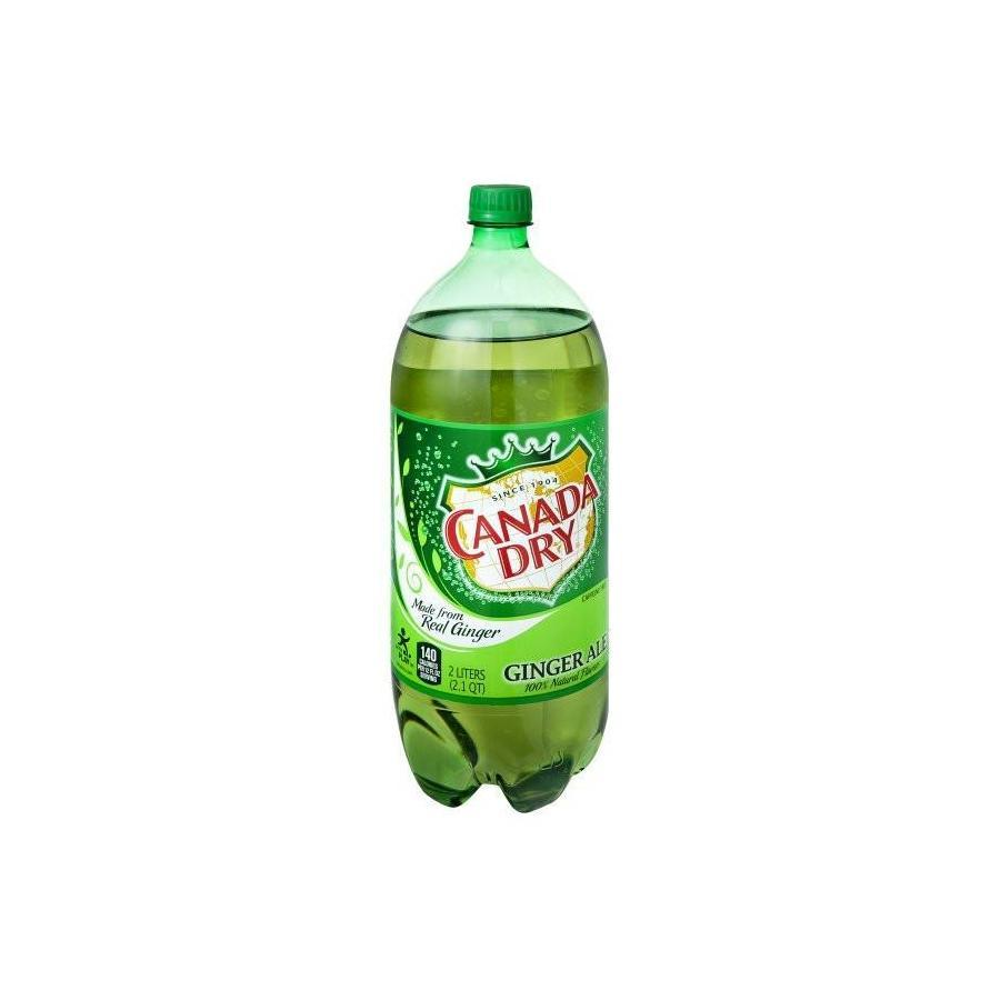 Canada Dry Ginger Ale - 2 Ltr Bottle