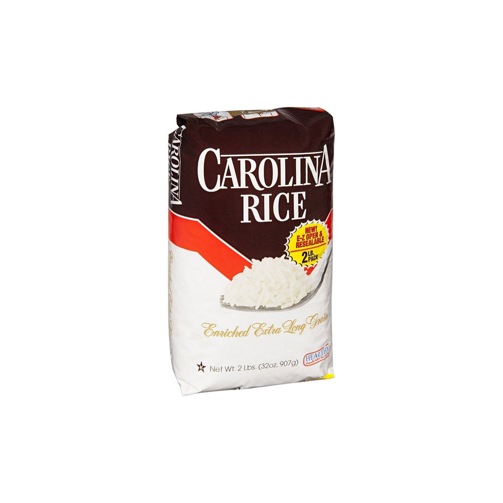 Carolina Rice Enriched Extra Long Grain White Rice, 2 lb