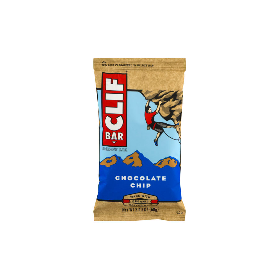CLIF Bar Energy Bar Chocolate Chip - 2.4 oz