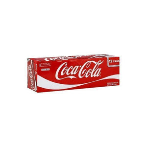 Coca Cola Soda Cans 12 pack
