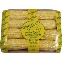 GloriAnn Fully Husked & Trimmed Super Sweet Corn (8 pack)