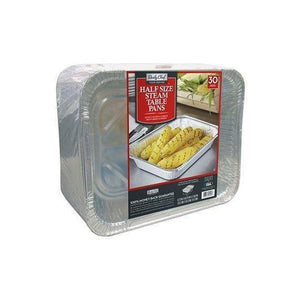 Daily Chef Aluminum Foil Steam Table Pans, Half Size (30ct.)