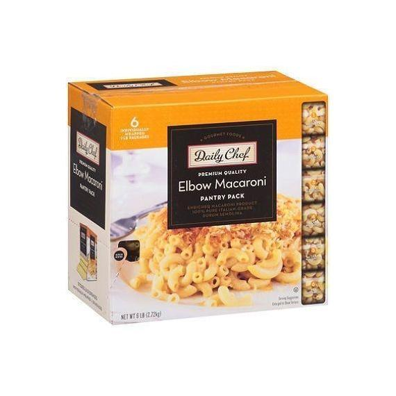 Daily Chef Elbow Macaroni Pantry Pack 1 lb. bag