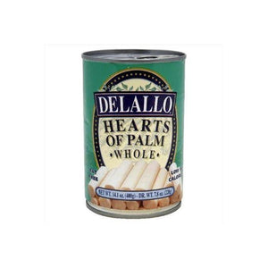 Delallo Hearts Of Palm Whole 14. 1 Oz