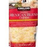 Kirkland Signature Shredded Mexican Blend Cheese 24 oz.