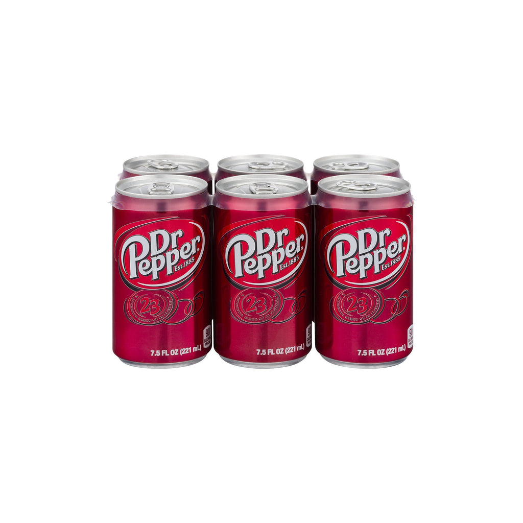 Dr. Pepper 12 oz. cans