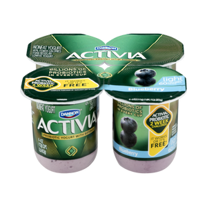 Activia Probiotic Blueberry Yogurt (4 cups)