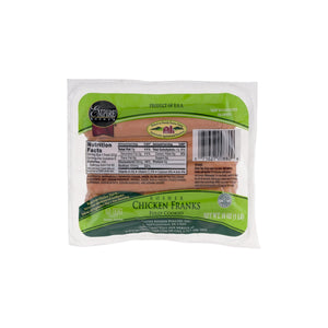 Empire Kosher Chicken Franks Fully Cooked 8 count