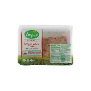 Empire Kosher Ground Turkey ~ 1 LB
