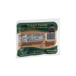 Empire Kosher Turkey Franks Fully Cooked 8 count