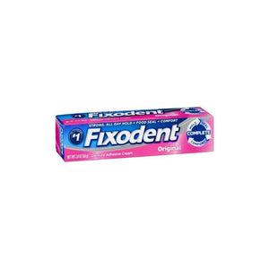 Fixodent Denture Adhesive Cream Original - 2.4 oz.