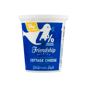 Friendship Dairies 4% California Style Cottage Cheese