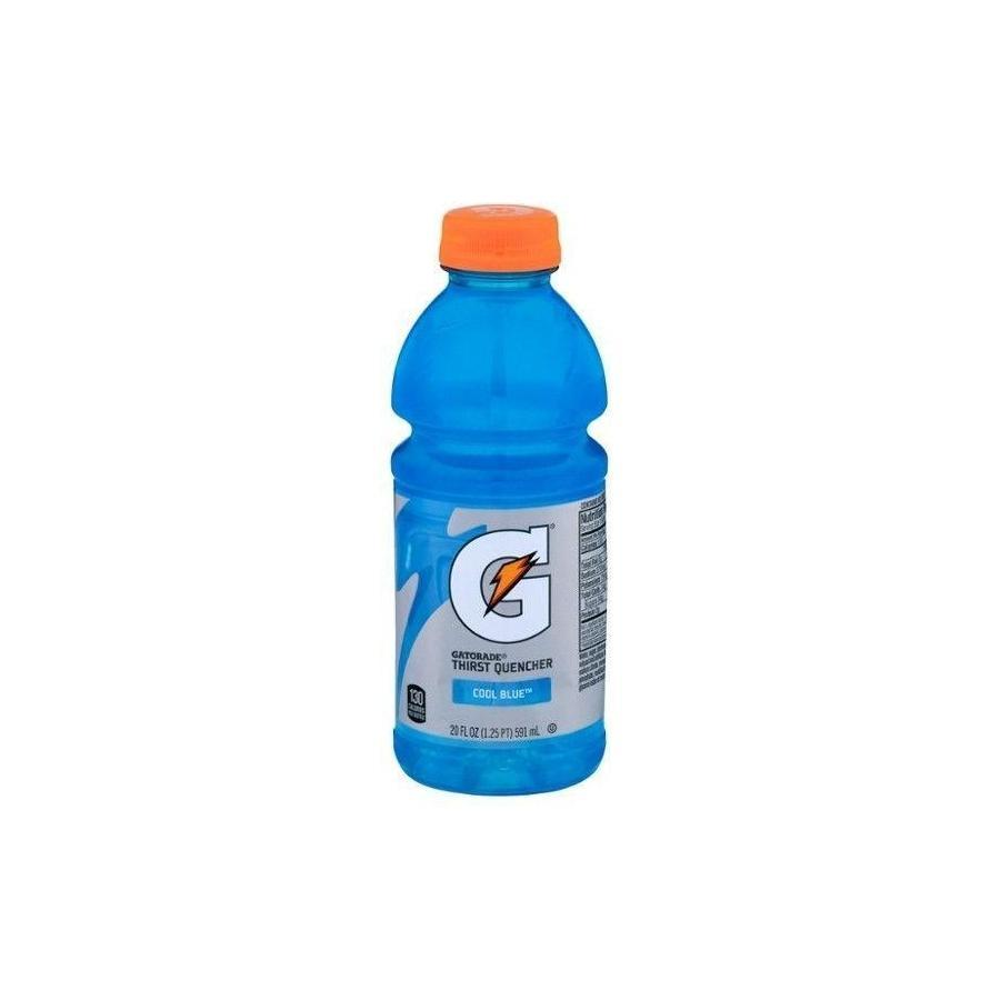 Gatorade Cool Blue Thirst Quencher -  20 oz. Bottle