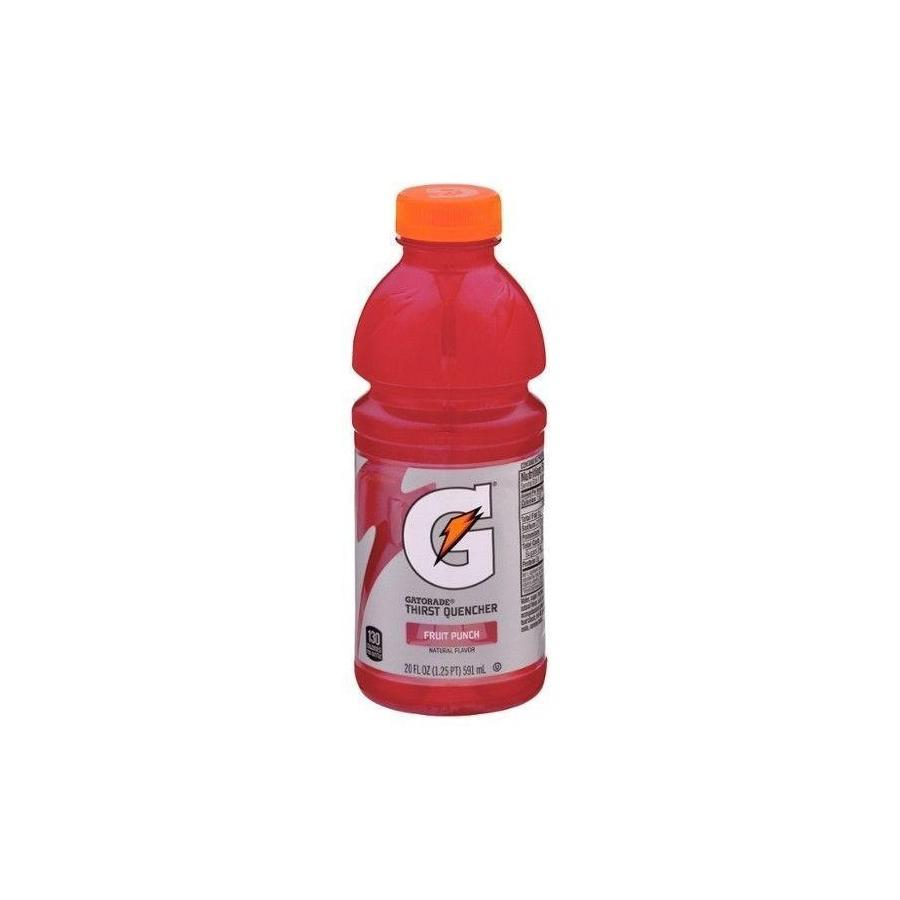 Gatorade Fruit Punch Thirst Quencher -  20 oz. Bottle