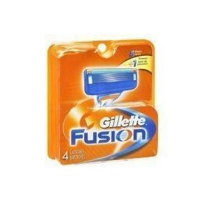 Gillette Fusion Razor Refill Cartridges 4 PACK